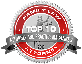 Attorney & Practice Magazine's Top 10 Family Law Attorney